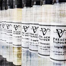 PREACH VAPOUR E-Juice Line