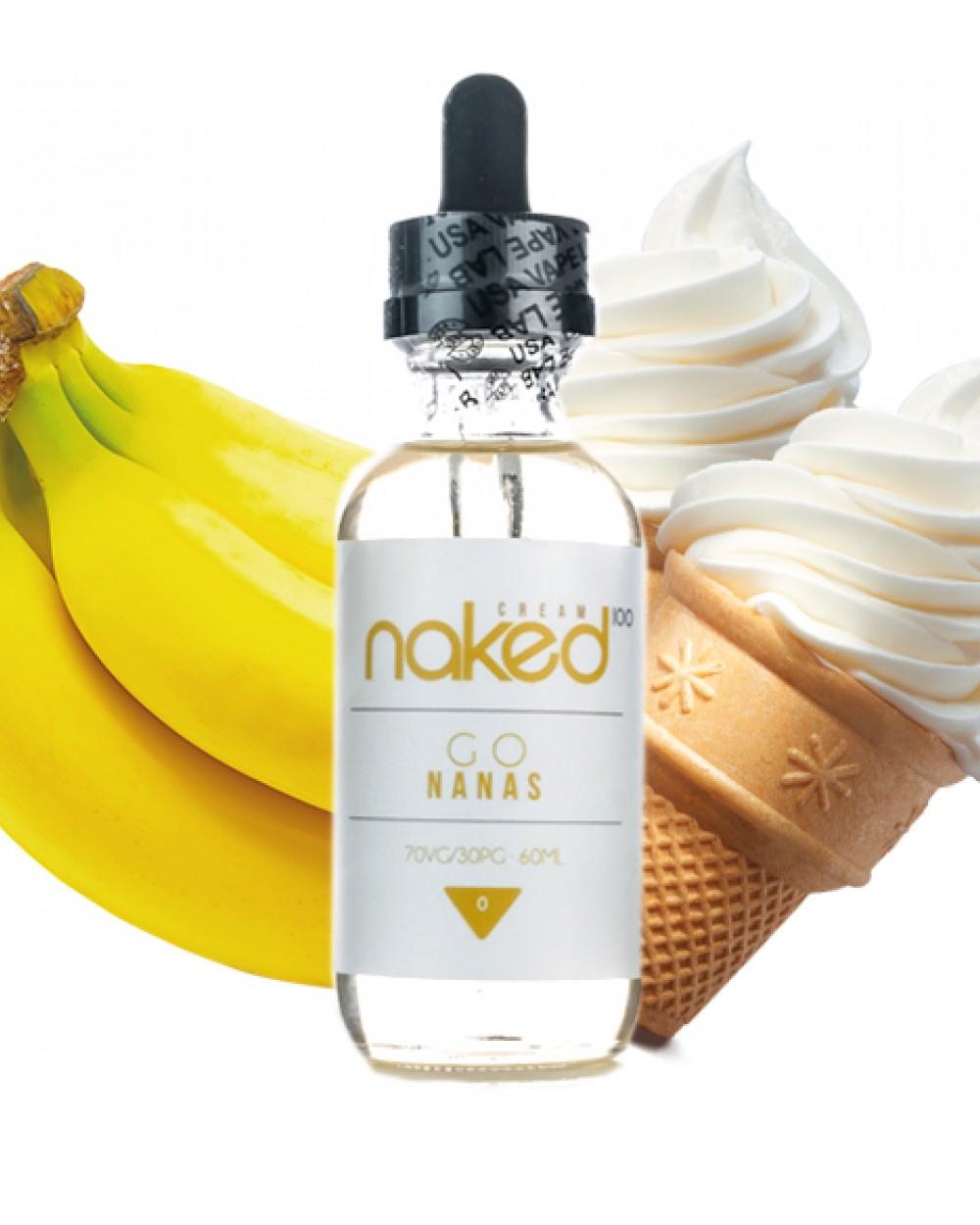 Banana (Go Nanas) - Naked 100 Cream E Liquid | Vape Juice