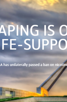 raise money to support vaping