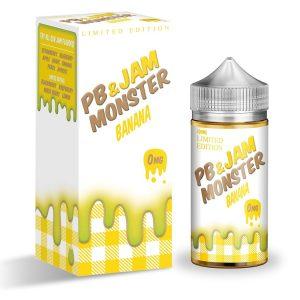 Peanut Butter & Banana Jam Monster 100ml