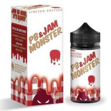 Peanut Butter & Strawberry Jam Monster 100ml