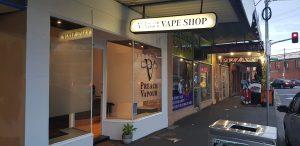 preach vapour store near corner of droop st and ballarat rd footscray